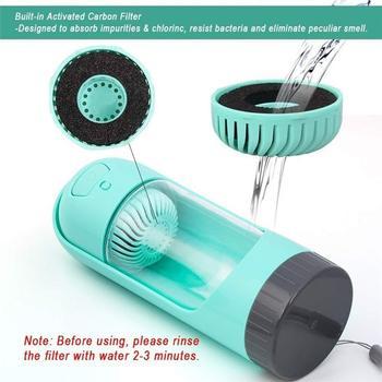 Portable Pet Dog Water Bottle Drinking Bowls   3