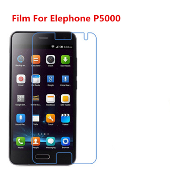 1/2/5/10 Pcs Ultra Thin Clear HD LCD Screen Protector Film With Cleaning Cloth Film For Elephone P5000. image
