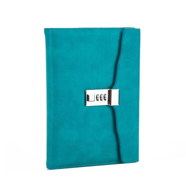 A5 с замком, ретро записная книжка с паролем, креативные школьные офисные принадлежности, канцелярские принадлежности, личный дневник, этот дневник, книга планер