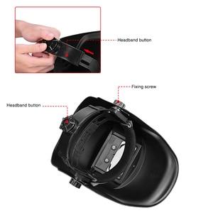 Image 2 - FIRECORE Solar Automatic Darkening Adjustable Range 4/9 13 MIG MMA Welding Helmets