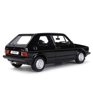 Image 3 - Bburago 1:24 1979 جولف MK1 GTI هوت هاتش ثابت يموت يلقي المركبات تحصيل نموذج سيارات لعب