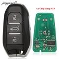 Jinyuqin HU83 смарт-ключ для peugeot 208 308 508 3008 5008 Citroen C4 DS4 DS5 аварийного ключа автомобиля дистанционного 433 МГц/434 МГц ID46 Hitag2