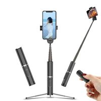 Selfie Stick Bluetooth Tripod Wireless Remote Universal Extendable Long Monopod Android Phones for IPhone Xs MAX/XR/X/8/8P/7P