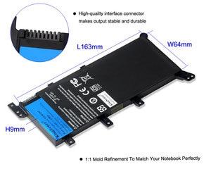 Image 4 - 7.5V 37WH Kingsener C21N1347 Nieuwe Laptop Batterij Voor Asus X554L X555 X555L X555LA X555LD X555LN X555MA 2ICP4/63/134 c21N1347