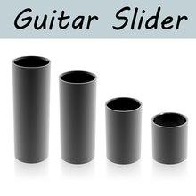 1 шт. Нержавеющая ползунок гитара слайд гладкий край длина 28 50 60 70 мм