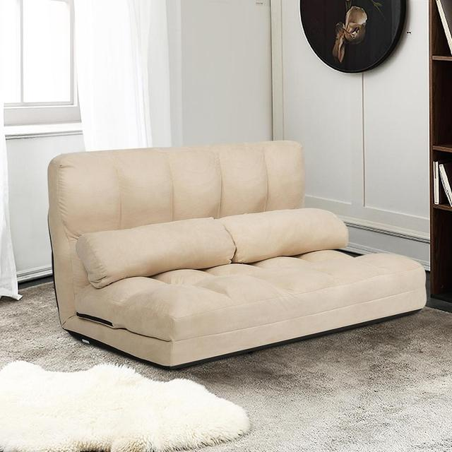 Foldable Floor Sofa Bed w/ 6-Position  3