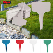 Tools-Accessories Plant-Tags Garden-Labels T-Type-Markers Plastic Gray Nursery Hot 50pcs