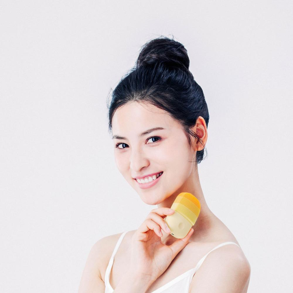 Image 5 - Xiaomi inFace Sonic Clean Electric Deep Facial Cleaning Massage Brush Face Care Cleaner RechargeableSmart Remote Control   -