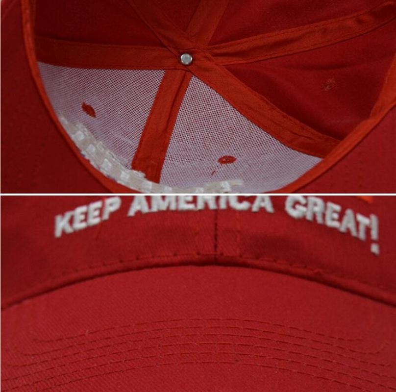 Tailing Make America Great Again Unisex Hip-hop Hats Snapback Hat Solid Flat Cap