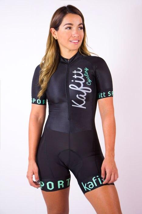 2020 mulheres profissão triathlon terno roupas ciclismo skinsuits corpo ropa ciclismo macacão das mulheres triathlon kits kafitt 4