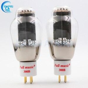 Image 3 - 1Pair TJ Fullmusic 300B Vacuum Tube Solid Plate Gold Pins Ceramic Base Alternative To Other Brands 300B Vacuum Tuba Audio