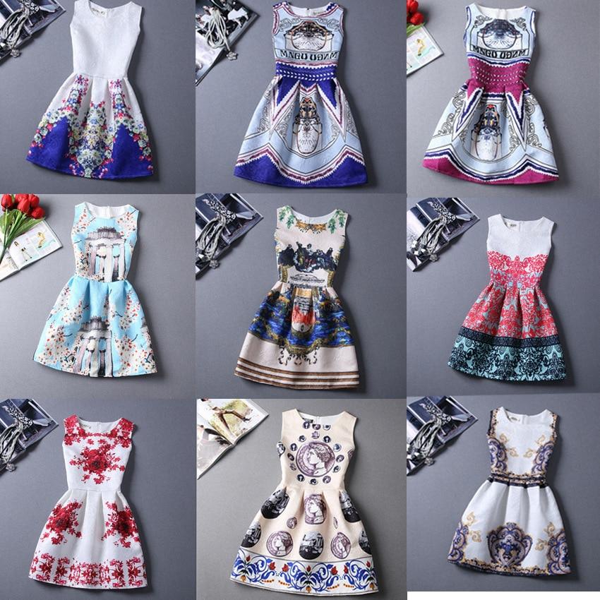 Ever Pretty Woman Cocktail Party Dresses 2020 Summer New Pattern Flower Printing Adult Vest Skirt Sukienki Koktajlowe
