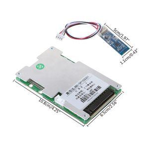 Image 2 - 13S ליתיום סוללה מגן לוח BMS 30A פולימר עם Bluetooth חכם אינטליגנטי UART ממשק גמיש סטטי חשמלי שיתוף