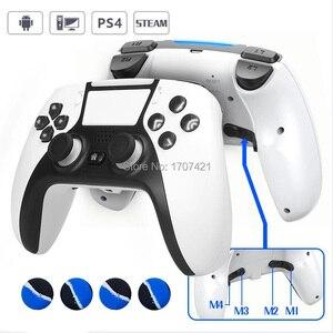 Image 1 - Nieuwe PS4 Draadloze Controller Bluetooth Dualshock Joystick Mando Gamepads Voor Playstation 4 Slanke Pro Video Games