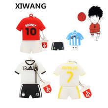XIWANG Speed usb cartoon football model flash drive USB2.0 4GB 8GB 16GB 32GB 64GBPendrive mini notebook disk company gifts