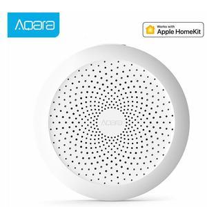 Image 1 - מקורי Aqara רכזת Mi Gateway עם RGB Led לילה אור חכם לעבוד עם אפל Homekit חכם בית App החדש מהדורה