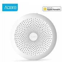 original Aqara Hub Mi Gateway with RGB Led night light Smart work with Apple Homekit Smart home App newest Edition