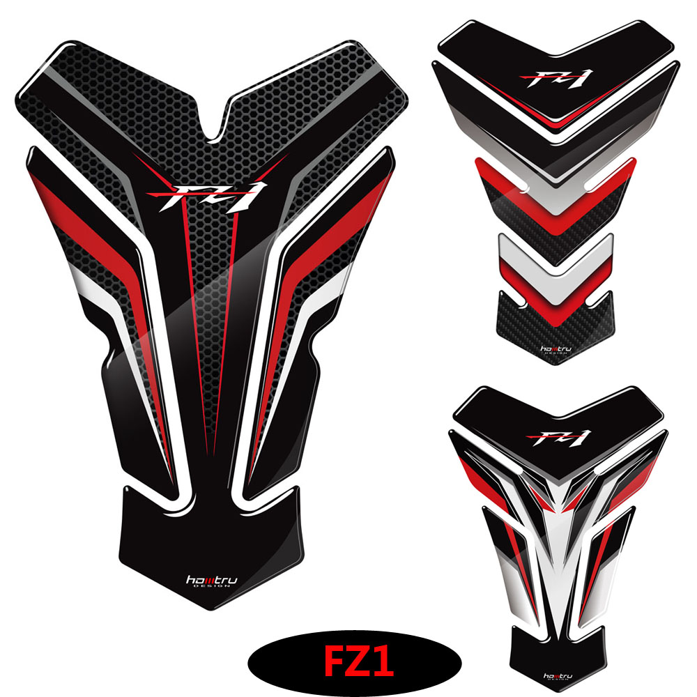 3D Motorcycle <font><b>Sticker</b></font> Gas Fuel Oil Tank Pad Protector Decal Case for Yamaha FZ1 <font><b>FZ</b></font> 1 FZ1N Tank image
