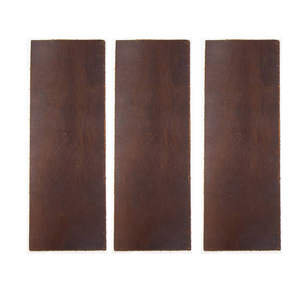 Small size Cowhide Wax horse Leather Honing Strops Crazy horse cowhide about 2mm thickness Razor Knife blade polishing Grinding image