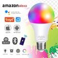 20 Вт E27 B22 светильник лампа умный светильник WI-FI/ИК-пульт дистанционного управления Управление светильник светодиодный RGB с регулируемой ярк...