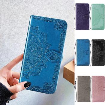 Dla Samsung M51 Etui z klapką na Samsung Galaxy M51 M31 M21 M31s M11 M01 M21s skórzana pokrywa dla GalaxyM51 M 31 Etui na telefony tanie i dobre opinie KL-Boutiques CN (pochodzenie) Etui z portfelem 3D Mandala Embossed Flip Leather Wallet Stand Phone Case Zwykły W stylu rysunkowym