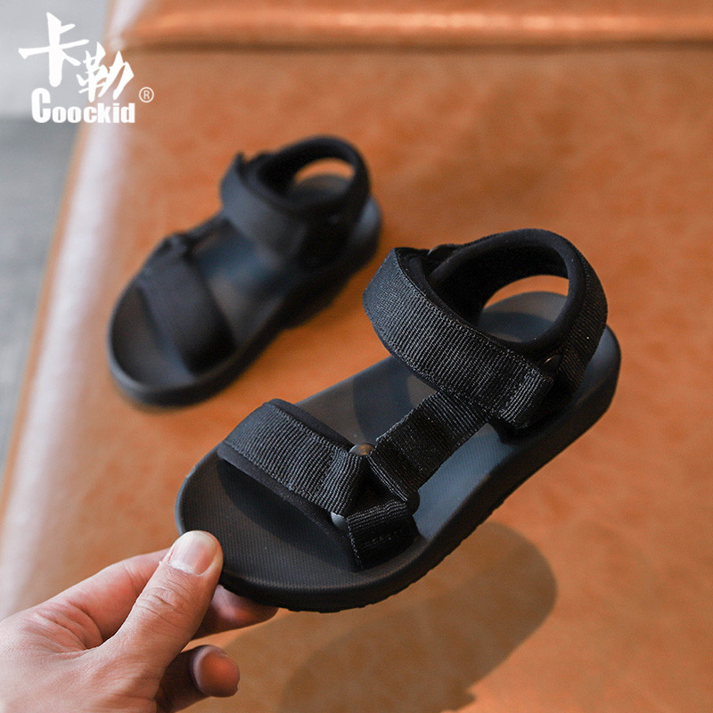 2020 Fashion New Baby Toddler Shoes Simple Open Toe Children Sandals Girls Boys Big Kids Soft Bottom Beach Shoes 1 - 12 Years