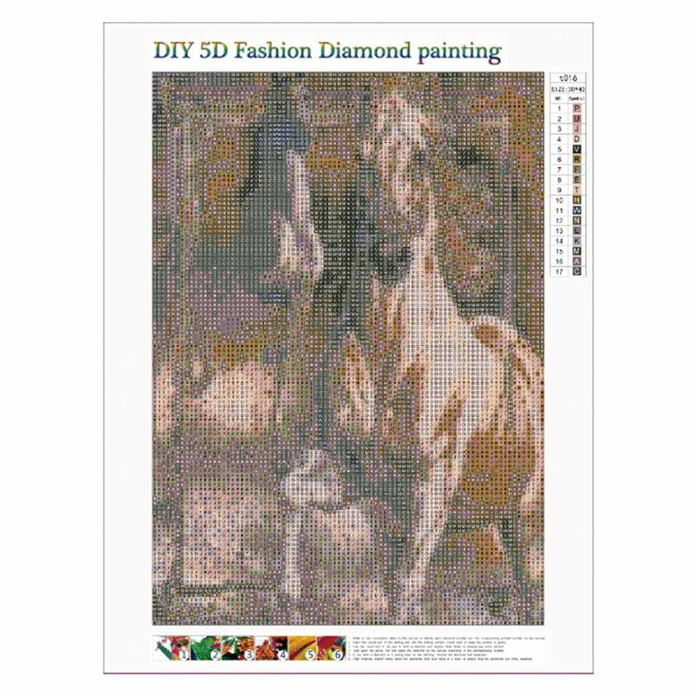 5D Diamond Painting Embroidery Cross Stitch Craft WallHome Decor T016