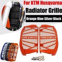 Kratka chłodnicy straż osłona na grilla pokrywa dla KTM Husqvarna 125 250 300 350 400 450 500 TE TX FE FX EXC-F XCF-W TPI sześć dni