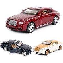 1:32 Toy Car Rolls-Royce Super Car Metal Car Diecasts