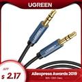 Ugreen Jack 3,5 Cable de Audio Cable de altavoz de 3,5mm línea de Cable Aux para iPhone 6 Samsung galaxy s8 coche de Xiaomi Redmi 4X Jack de Audio