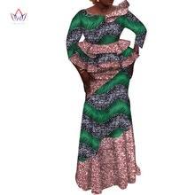 Комплект из топа и юбки с блестками длинным рукавом wy6276