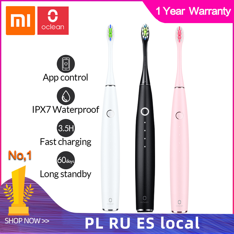 Xiaomi Oclean One Sonic Electric Toothbrush Adult Waterproof Ultrasonic Automatic Fast Charging Tooth Brush Fast Charging