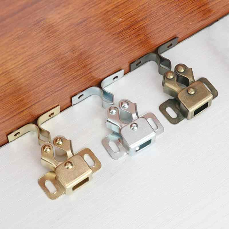 New Cabinet Catches Magnet Door Stop Soft Quiet Closer Magnetic Door Stoppers Damper Buffer Wardrobe Hardware Furniture Fittings