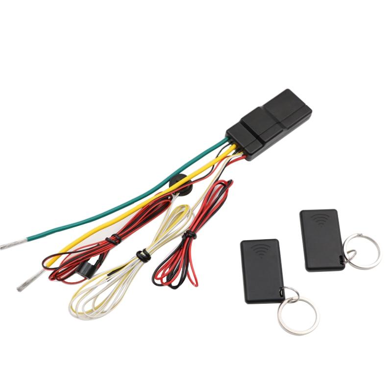 FISHBERG 2.4 G Car Immobilizer System Car Universal Put Remote In Pocket Lock Unlock Engine Intelligent Anti Hijacking Circuit|Burglar Alarm| |  - title=