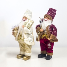 Christmas Ornament Santa Claus Doll Holiday Figurine Collection Gift Table Decoration Xmas Home Decor