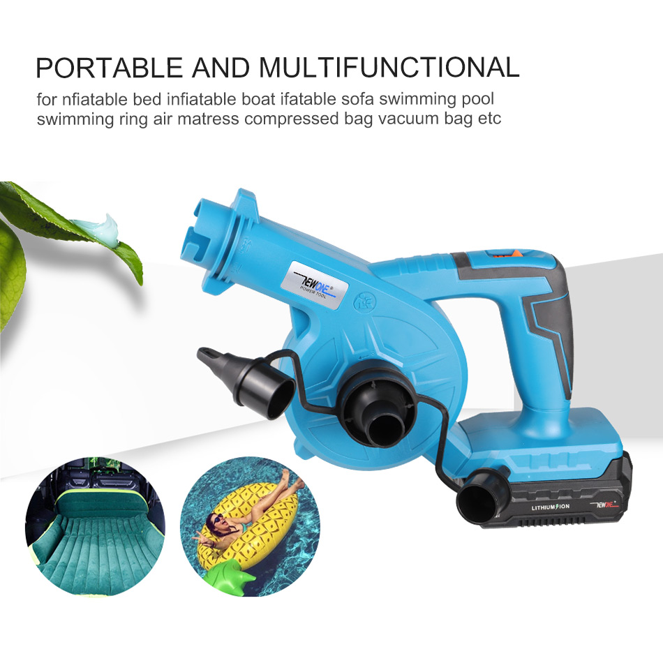 Cordless 20V Electric Air Blower Dust Blowing Dust Mini Computer Dust Collector