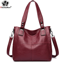 Fashion Ladies Handbags Female Quality Leather Messenger Bag Designer Crossbody Bags for Women Tote Shoulder Bag for Girls Bolsa 2017 women s handbags fashion wild tassel bucket bag tote leather women messenger bags girls for shoulder bag brands designer