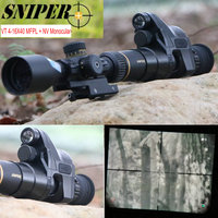 Night Vision Riflescope SNIPER VT 4 16X40 FFP first focal plane Rifle scopes w/ Night Vision Monocular Tactical Hunting Camera