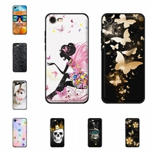 For Apple iPhone 7 A1778 A1660 Cover Soft TPU Leather 8 A1863 A1905 Case Lion Pattern Coque Bag