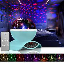 LED Night Light Atmosphere lamp Galaxy Projector Children Kids Baby