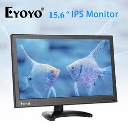 Eyoyo EM15Y 15,6 FHD 1080P IPS monitor BNC HDMI TV pantalla de ordenador PC pantalla LCD Moniteur con VGA AV para cámara de seguridad cctv