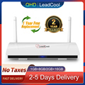 Leadcool qhdtv Android TV Box 4K Media Player Amlogic S905W Quad-Core 1G+8G 2G+16G 2.4G WIFI smart tv box Leadcool Set Top Boxes