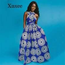 Африканские платья для женщин 2020 Новинка бандаж разрез Дашики