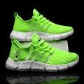 Ultraleicht Fliegen Woven Atmungsaktive herren Turnschuhe Paar Popcorn Halten Laufschuhe Große Size46 Komfortable Casual Sport Schuhe
