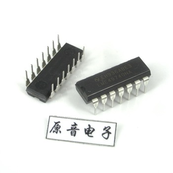 2pcs/10pcs National Semiconductor plastic original new high-fidelity audio quad op amp LME49740NA DIP14 DIP chip free shipping muses01 dip8 1pcs lot audio j fet input fever dual op amp high fidelity sound quality