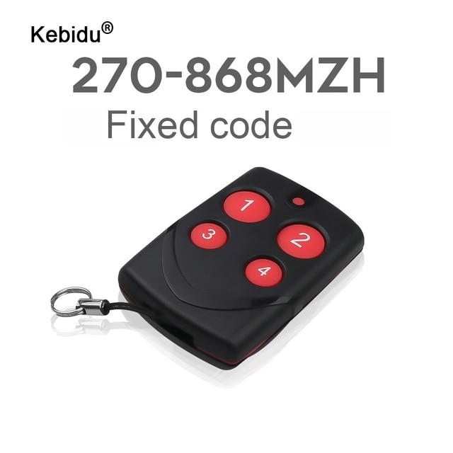 Kebidu Clonación automática con Control remoto para puerta de garaje, duplicador automático, multifrecuencia de 315/433/868MHZ