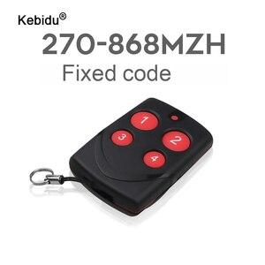 Image 1 - Kebidu automatyczne klonowanie zdalnego sterowania kopiowanie powielacz 315/433/868MHZ Multifrequency dla brama garażowa drzwi