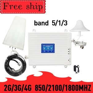 Image 1 - TFX BOOSTER 2g 3g 4g трехдиапазонный усилитель сигнала 70 дБ 23 дБм CDMA WCDMA UMTS LTE сотовый ретранслятор 850/1800 МГц усилитель