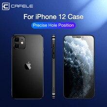 Cafele Original Für iPhone 11 12 Fall Luxus Weichen Silikon Fällen Für iPhone 12 11 Pro Max Transparent Anti-knock 12 mini Abdeckung