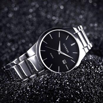 CURREN Men's Luxury Display Date Waterproof Quartz Watches 3